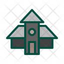 Office Tower Home Icon