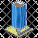 Office Building Block Building Apartments Icon