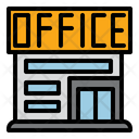 Office Building Business Icon