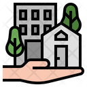 Immovable Asset Realestate Building Property Icon