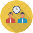 Office Working Hours Employees Icon