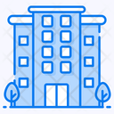 Office Building Infrastructure Icon