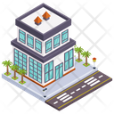 Commercial Building Office Corporate Building Icon
