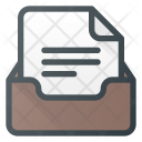 Office Archive Box Icon