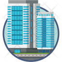 Office Apartment Construction Icon