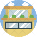 Houses Building Office Icon