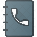 Office Phone Contact Icon