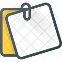 Office Post It Icon