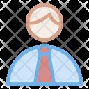 Office Worker Businessman Icon
