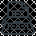 Office Type Writer Icon