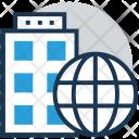 Building Trade Globe Icon