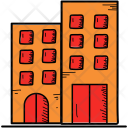 Office Building Hotel Icon