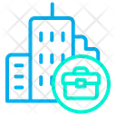 Work Office Office Building Building Icon