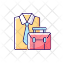 Office Accessories Office Time Office Dress Icon