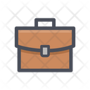 Office Bag Briefcase Suitcase Icon