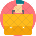 Office Bag Businessman Icon
