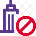 Office Banned Office Block No Office Icon