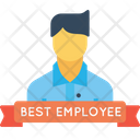 Office Best Employee Icon