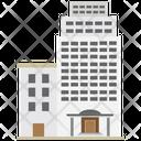 Office Block Corporation Business Icon