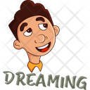 Office Boy Dreaming Icon