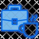 Briefcase Mug Cup Icon