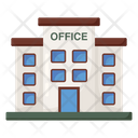 Commercial Building Modern Office Office Icon