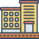 Apartment Accommodations Residence Icon