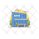 Office Building Commercial Building Department Icon