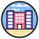Office Building Office Blocks Commercial Building Icon