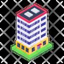 Office Building Architecture Condo Icon