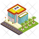 Commercial Building Office Office Building Icon