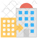 Office Building Skyscraper Icon