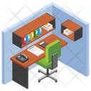 Office Cabin Icon