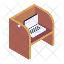 Office Table Workplace Computer Table Icon