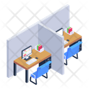 Office Cabins Icon