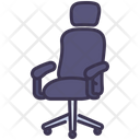 Armchair Office Furniture Icon