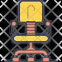Office Chair Chair Revolving Chair Icon