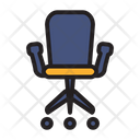 Business Chair Furniture Icon