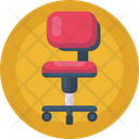 Office Chair Office Furniture Revolving Chair Icon
