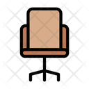 Office Chair Chair Classroom Icon