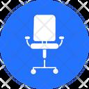 Office Chair Furniture Mesh Chair Icon