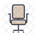 Office Chair Chair Seat Icon