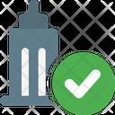 Office Check Verify Job Verify Office Icon