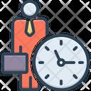 Office Clock Icon