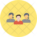 Office Colleagues Business Crew Business Group Icon