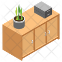 Office Cupboard Icon