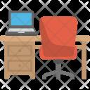 Office Desk Icon