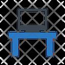 Table Desk Lcd Icon