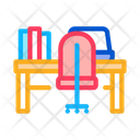 Office Workspace Badge Icon