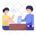 Office Discussion Icon